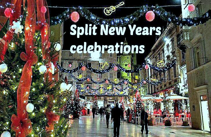 New Year Narodni Trg Split