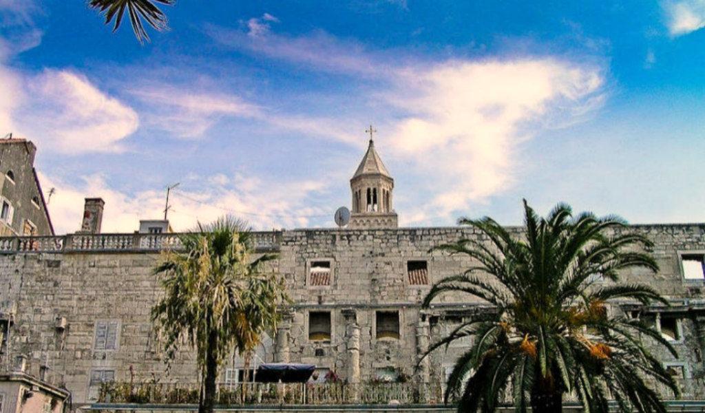 Dicletian palace walls