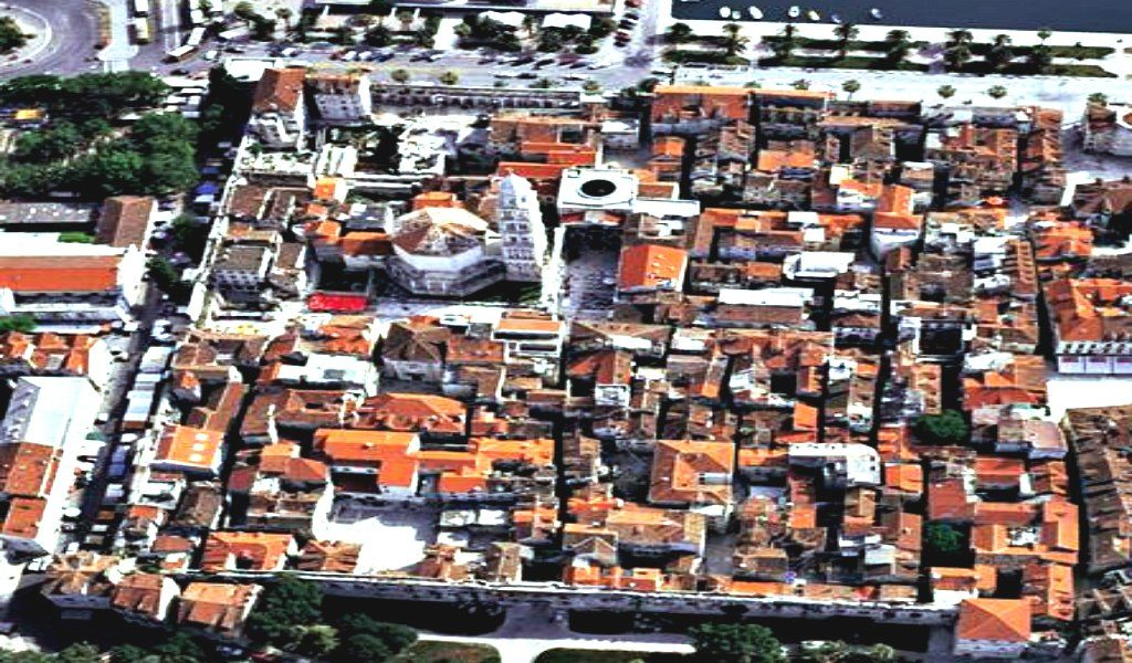 Diocletian Palace from air