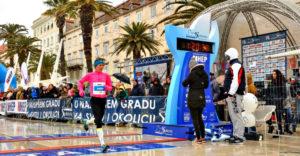 Split marathon