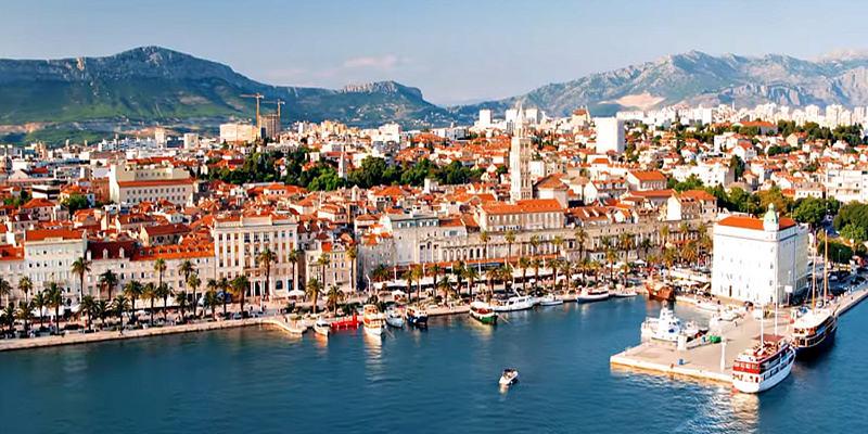 View to Split Riva