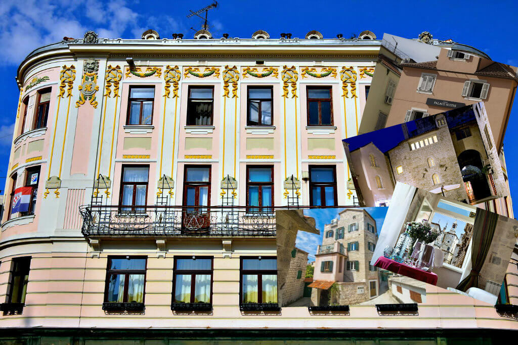 Split heritage hotels
