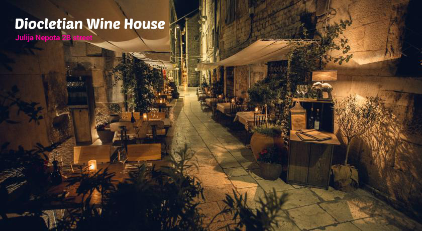 Diocletian wine house restaurant