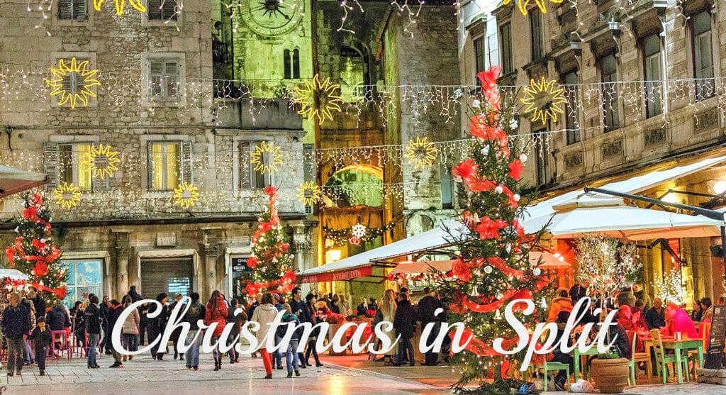 Christmas time in Split