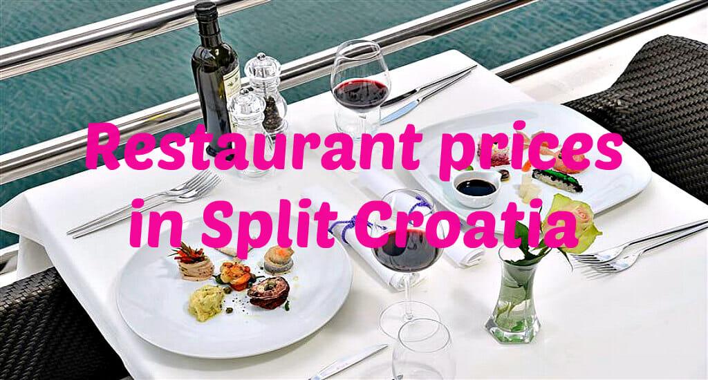 Split Restaurant Prices Overview