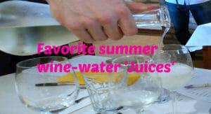 Drinking In Split - Water-Wine Combinations